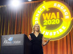 WAI CEO Allison McKay speaking at WAI2020
